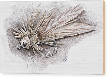 Ugly Bug Wood Print by H C Denney