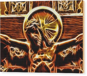Wood Print featuring the photograph Ultimate Sacrifice by Joetta West