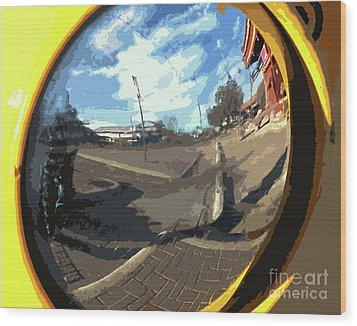 Um Die Ecke Wood Print by Joe Jake Pratt
