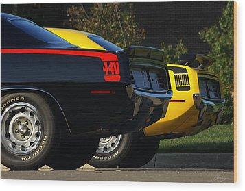 Unbeatable Dynamic Duo Wood Print by Gordon Dean II