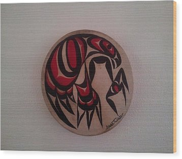 Unborn Eagle Wood Print by Speakthunder Berry