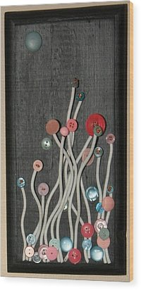 Under A Blue Moon Wood Print by Ellery Russell