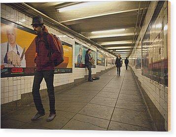 Underground Wood Print by Art Ferrier