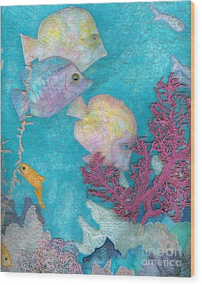 Underwater Splendor IIi Wood Print by Denise Hoag