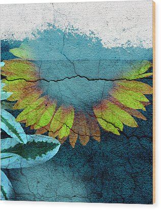Underwater Sun Wood Print by The Artist Project