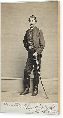 Union Soldier, 1860s Wood Print by Granger