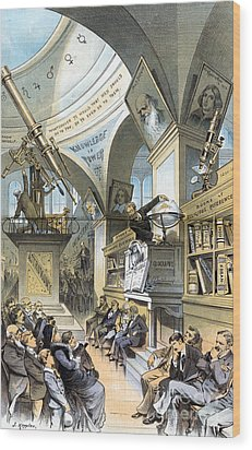 Universal Church Of The Future, 1883 Wood Print by Science Source