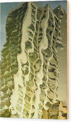 Unreal Estate Wood Print by Dean Harte