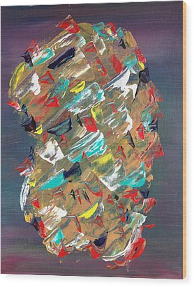 Untitled 1 Wood Print by Tony Allison