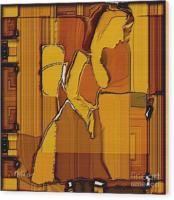 Untitled 191 Wood Print by Nedunseralathan R