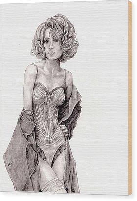 Untitled Wood Print by Blake Grigorian
