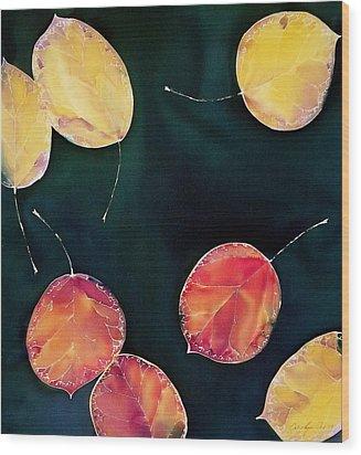 Untitled Wood Print by Carolyn Doe