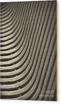 Wood Print featuring the photograph Upward Curve. by Clare Bambers