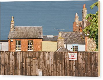 Urban Scene Wood Print by Tom Gowanlock