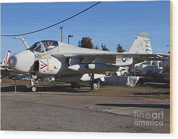 Us Fighter Jet Plane . 7d11238 Wood Print by Wingsdomain Art and Photography