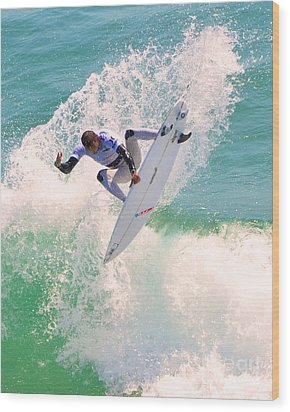Us Open Of Surfing 2012      10 Wood Print by Jason Waugh