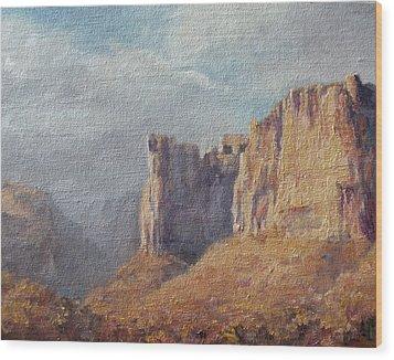 Utah  Wood Print by Mia DeLode