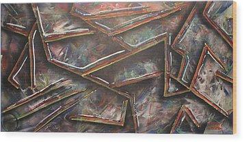 Utitled Wood Print by Shadrach Ensor