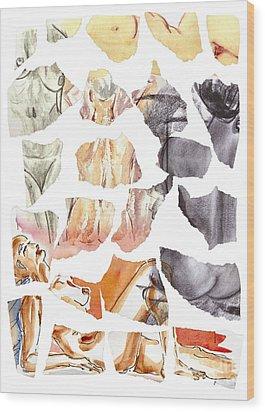 Vague Memories Wood Print by Michal Boubin