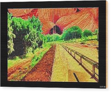 Wood Print featuring the painting Van Gogh by Beto Machado