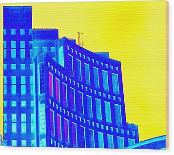 Vancouver Library 3 Wood Print by Randall Weidner