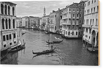 Wood Print featuring the photograph Venezia by Eric Tressler