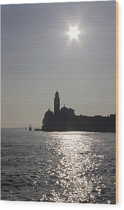 Wood Print featuring the photograph Venezia by Raffaella Lunelli