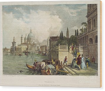 Venice, 1833 Wood Print by Granger