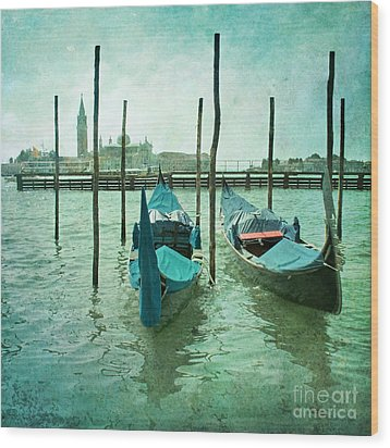 Venice Wood Print by Paul Grand