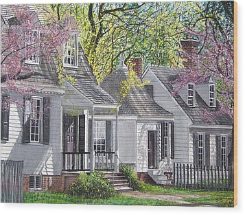 Wood Print featuring the painting Vermont Summer by Stuart B Yaeger