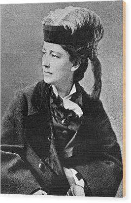 Victoria Woodhull 1838-1927, Early Wood Print by Everett