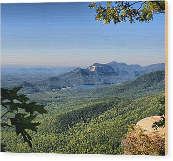 View From Caesar's Head Wood Print by Lynne Jenkins