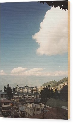 Wood Print featuring the photograph View From The Window by Fotosas Photography
