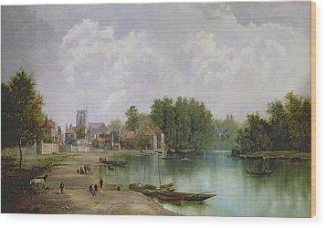 View Of Twickenham Wood Print by W Howard