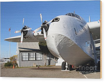 Vintage Boac British Overseas Airways Corporation Speedbird Flying Boat . 7d11276 Wood Print by Wingsdomain Art and Photography