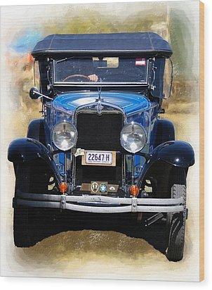Vintage Chevrolet Wood Print