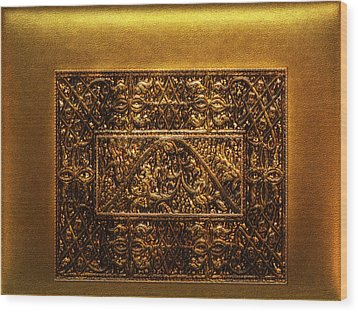 Vintage Treasure 05 Wood Print by Li   van Saathoff