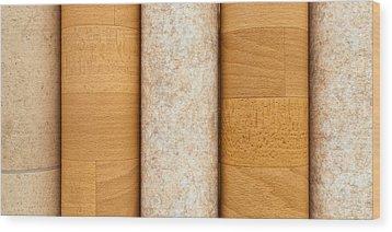 Vinyl Flooring Wood Print by Tom Gowanlock