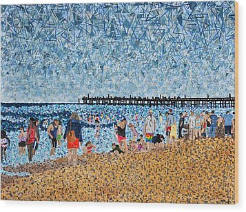 Virginia Beach In June Wood Print by Micah Mullen