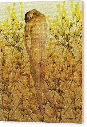 Vital Solitude Wood Print by Kurt Van Wagner