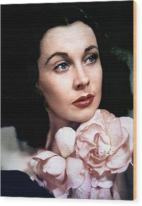 Vivien Leigh, 1940s Wood Print by Everett