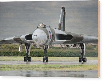 Vulcan Thunder Wood Print