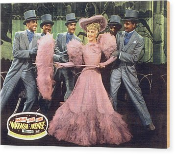 Wabash Avenue, Betty Grable, 1950 Wood Print by Everett
