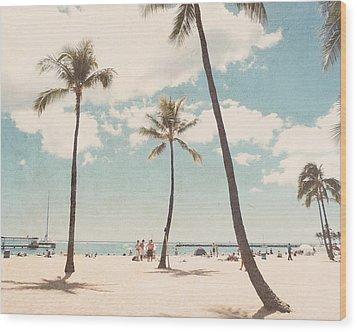 Waikiki Wood Print
