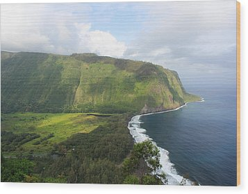 Wood Print featuring the photograph Waipio Valley by Scott Rackers