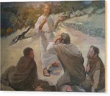 Waking The Apostles Wood Print by Larry Christensen