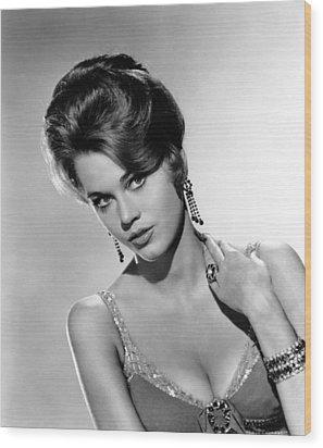 Walk On The Wild Side, Jane Fonda, 1962 Wood Print by Everett