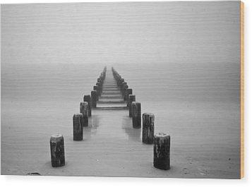 Walk To Eternity Wood Print by Michael Murphy