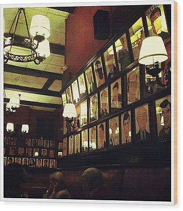 Wall Of Fame Wood Print