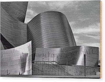 Walt Disney Concert Hall Wood Print